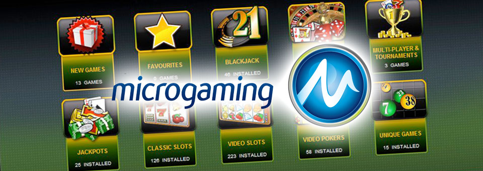 New microgaming casino games 2018