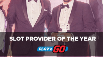 play n go slot provider of the year