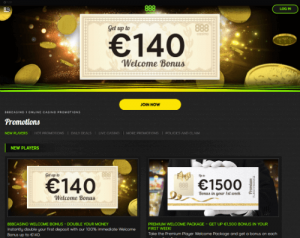 888casino welcome offer