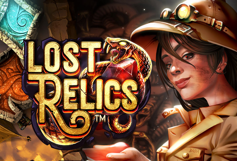 lost relics slot review netent