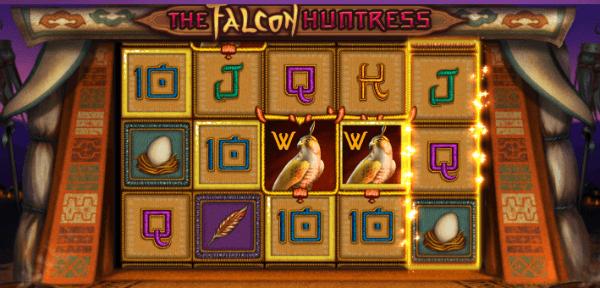 falcon huntress wild