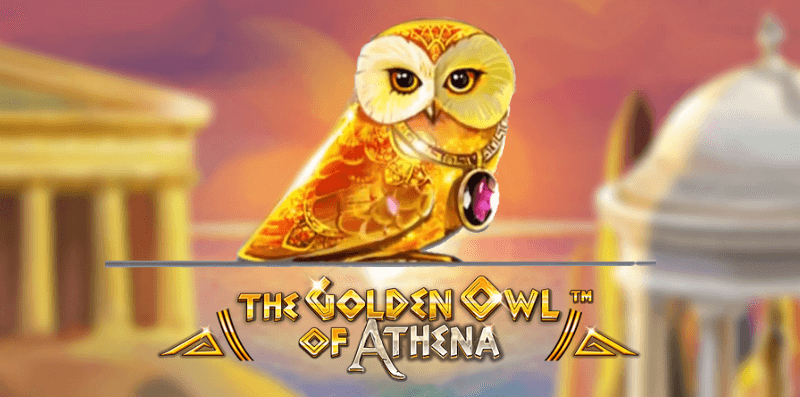 the golden owl of athena logo