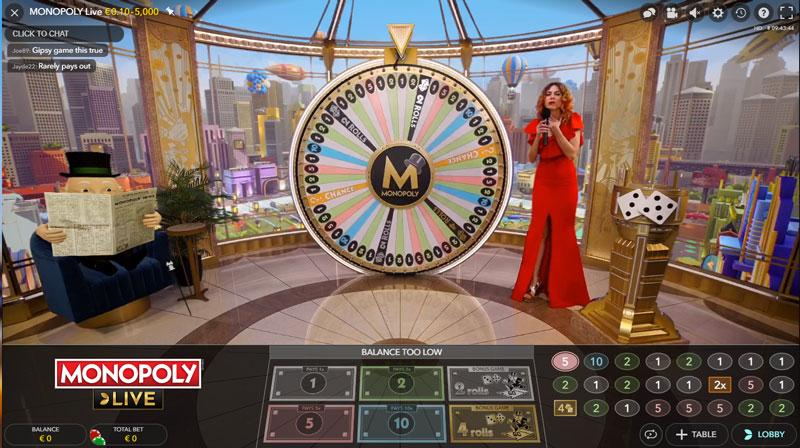 Monopoly casino no deposit