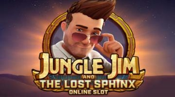 Jungle Jim and The Lost Sphinx online slot – 6,250x