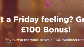 The Ultimate Friday Feeling With Spela Casino