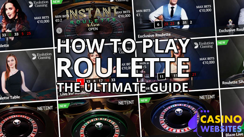How to play roulette banner