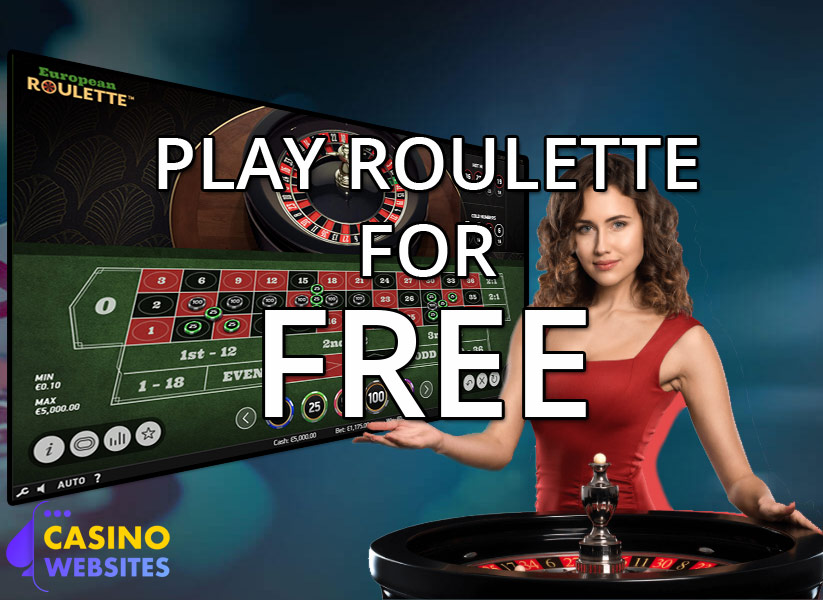 Play roulette for free here
