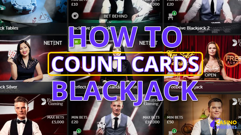 Count cards in blackjack