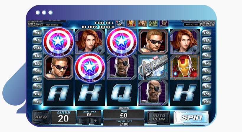 Avenger Marvel slot