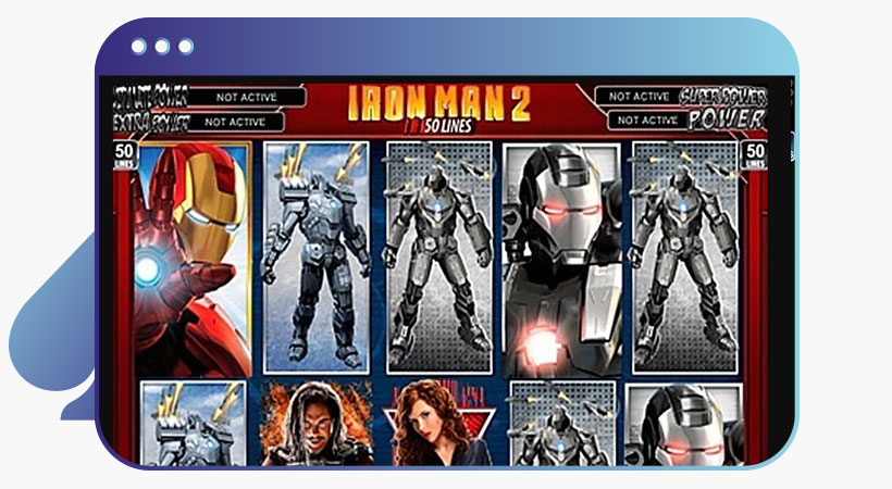 Ironman 2 marvel slot