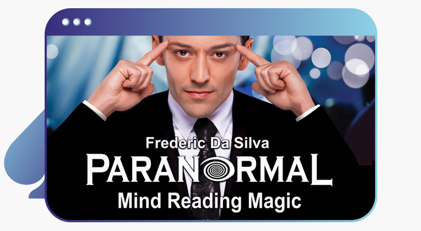 Paranormal mind reading show