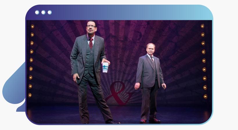 penn and teller las vegas show