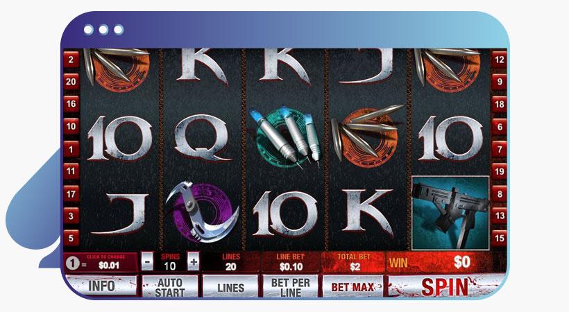 blade Marvel slot
